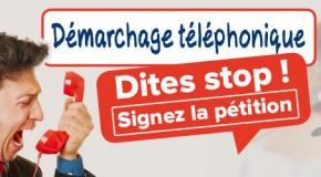 Enquête démarchage téléphonique : Une pétition contre le harcèlement !