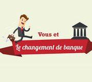 Mobilité bancaire (infographie) : vous et le changement de banque