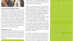 Article dans le magazine L'esprit Sport & Bien Etre
