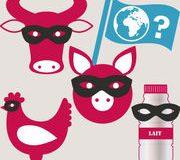 Origine de la viande et du lait dans les aliments transformés
