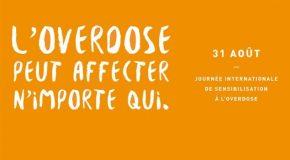 Journée internationale de prévention des overdoses – 31 Août