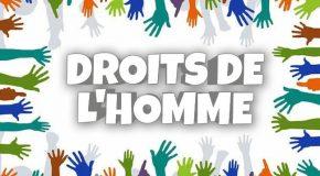 Journée Mondiale des droits de l'homme – 10 Décembre