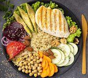 Alimentation – Une assiette plus verte que rouge